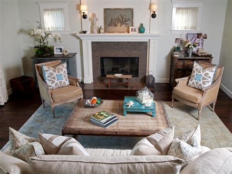 inspired living room coastal living room ideas living room and dining room decorating ideas and design hgtv