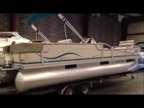 pontoon boat trailers nc 2004 crest pontoon w 90hp trailer for sale lake wylie sc