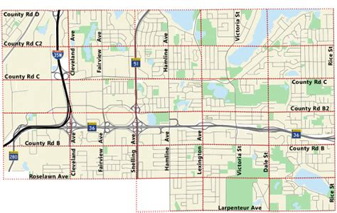 County Property Tax Map Index Roseville Mn Official