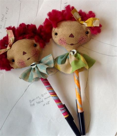 Raggedy Dolls Handmade - raggecy pen raggedy doll handmade by