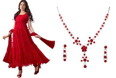dress design for valentine day gorgeous anarkali red dresses for valentine s day