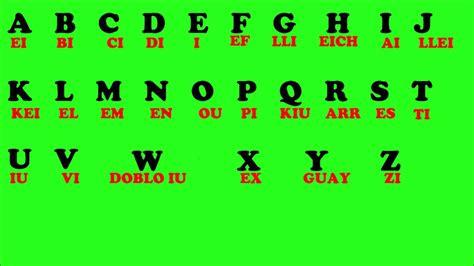 imagenes del alfabeto ingles aprende ingles el abecedario en ingles the alphabet