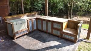 Inexpensive Kitchen Rugs Outdoor Rustic Cooking Station And Bar Rustic Patio