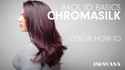 pravana hair color conversion chart pravana 180 chromasilk back to basics hair color how