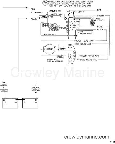 trolling motor wiring guide trolling motor wire size