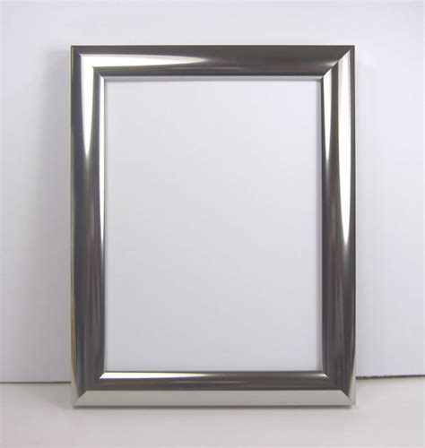 picture frame polished silver chrome style photo picture frame ebay