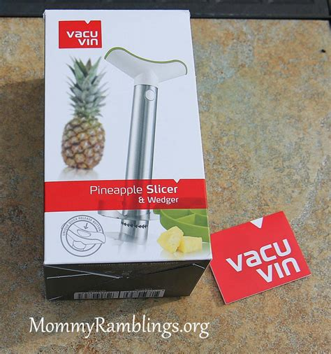 Vacu Vin Pineapple Slicer by Vacu Vin Stainless Pineapple Slicer With Wedger Review