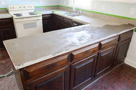 How To Rejuvenate Laminate Countertop by Trying Our At Diy Ardex Concrete Counters House