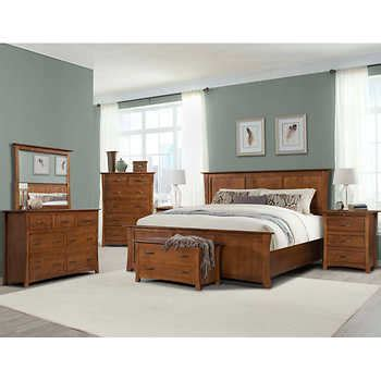 7 piece bedroom set king chartres 7 piece king bedroom set
