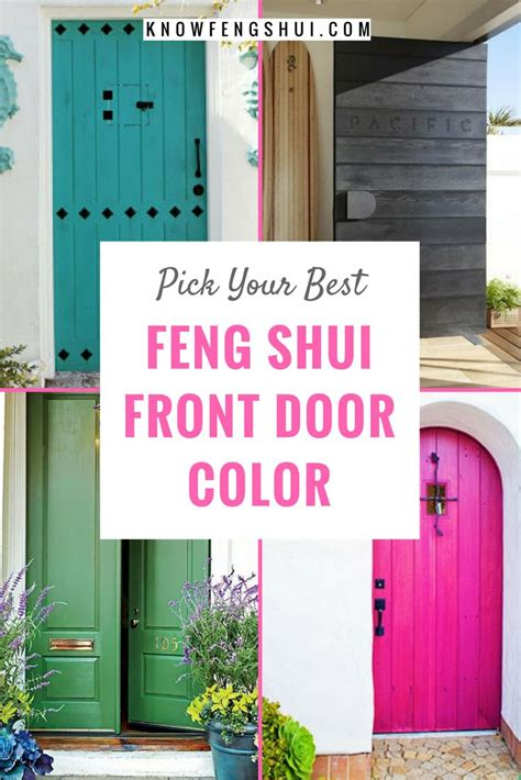 feng shui color for front door 411 best images about entry feng shui on