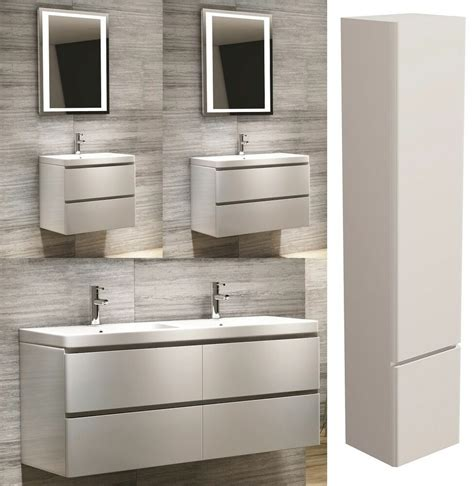 Kitchen Sink Vanity Unit by Modern Bathroom Vanity Unit Wall Hung White Basin Sink