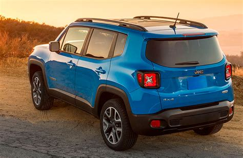 turquoise jeep renegade 2016 jeep renegade vs 2016 ford escape