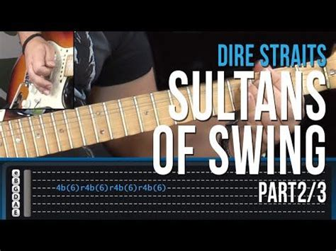 Sultans Of Swing Guitar Lesson by Sultans Of Swing Guitar Lesson Pt 1 Dire Straits Intro