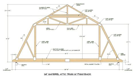 medeek design inc gambrel roof study 17 best images about house truss styles on pinterest