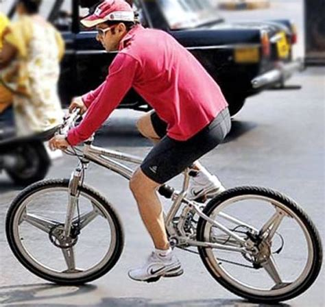 Salman Khan Takes His Rs 2 Lakh Bicycle For A Spin On The