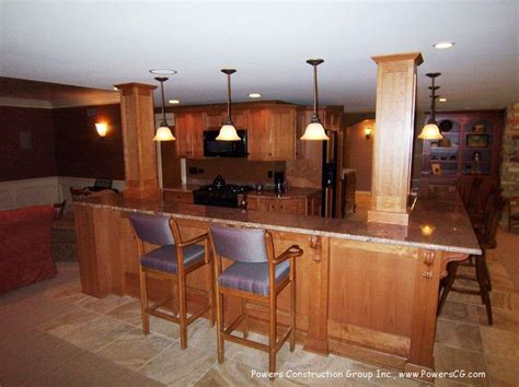 l shaped basement designs l shaped basement bars powers construction inc