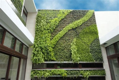 Green Wall Vertical Garden Vertical Gardens 187 Proteus Architects