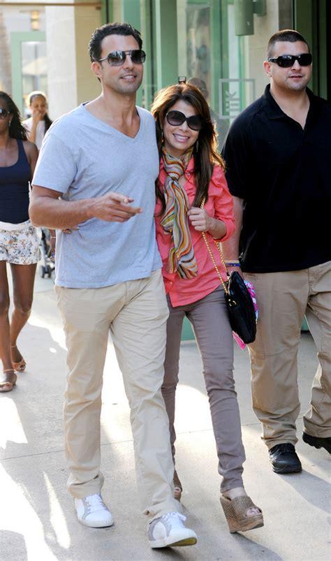 Paula Abdul Still Has A Boyfriend by Paula Abdul And Jon Caprio Stroll Around Miami Zimbio
