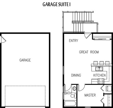 garage living space floor plans edmonton garage suite builder garage apartment plans