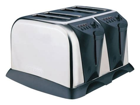 Best Wide Toaster West Bend 4 Slice Wide Slot Toaster Silver Wb 78004 Best Buy