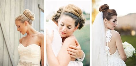 Wedding Hair Up Then by Wedding Hairstyles Up Dos Chignon Pony Then And Now