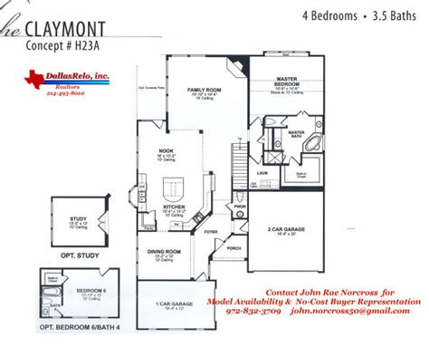 k hovnanian floorplans for winding creek community in