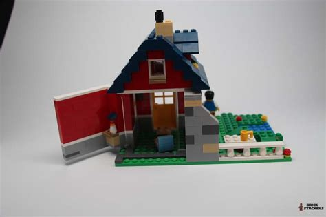 Lego Cottage by Lego Creator 31009 Small Cottage Review Brick Stackers