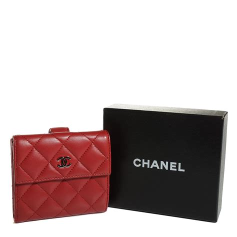Chanel Quilted Wallet by Chanel Lambskin Quilted Flap Wallet 103671