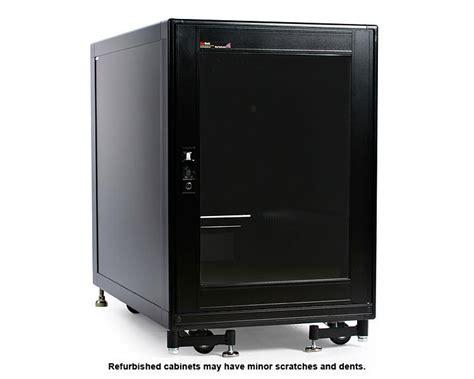 15u Rack by Refurbished 15u 19in Black Server Rack Cabinet With Fans