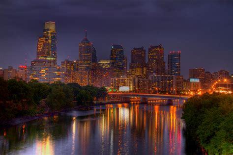 Landscaper Philadelphia Philadelphia Skyline And Reflection Landscape Photography
