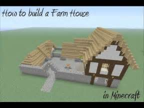 build a farmhouse how to build a farm house in minecraft youtube