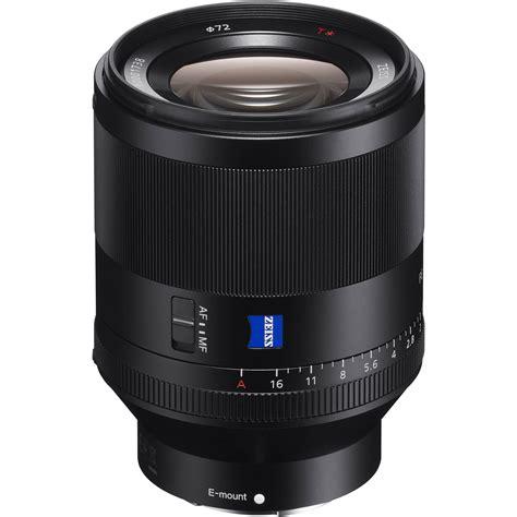 sony lenses sony planar t fe 50mm f 1 4 za lens sel50f14z b h photo