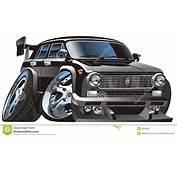 Vector Cartoon Car Royalty Free Stock Image  5284266