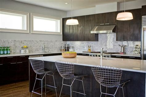 Kitchen Island Counter Stools by Espresso Kitchen Cabinets Contemporary Kitchen Marsh