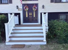 scary front steps to stunning porch hometalk