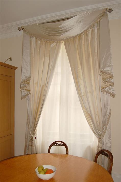 swag curtains for bedroom 17 best images about swags tails on pinterest large