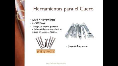 herramientas para trabajar el cuero venta catalogo herramientas para el cuero