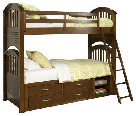 Legacy Bunk Beds Legacy Classic Newport Bunk Bed W Underbed Storage Traditional