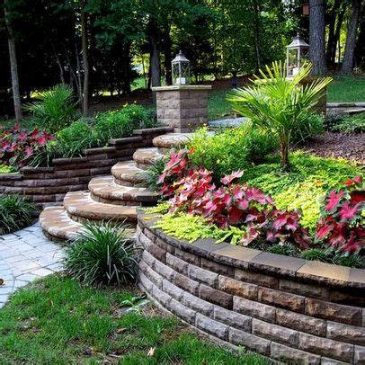 landscape ideas for hilly backyards 27 nice landscape ideas hilly backyards izvipi com