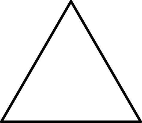 pattern block triangle large triangle for pattern block set clipart etc