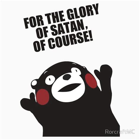 quot satanic kumamon quot t shirts hoodies by rorcraftmc