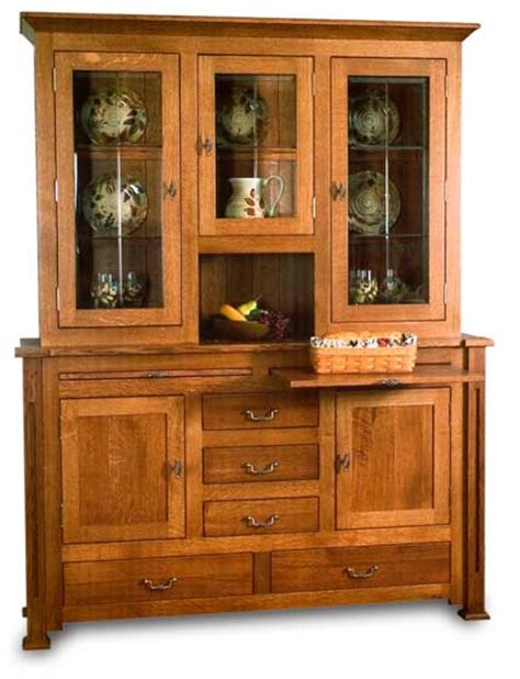 Hutches For Dining Room by Manhattan Dining Room Hutch Amish Dining Room Furniture Sugar Plum Oak Amish Furniture In