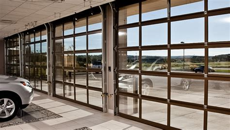 Glass Overhead Door Commercial Glass Doors Garage Doors