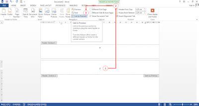 cara membuat nomor halaman berbeda dalam satu dokumen di cara membuat nomor halaman berbeda dalam satu dokumen di