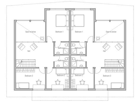 Simple Duplex House Plans Joy Studio Design Gallery Simple Duplex House Plans