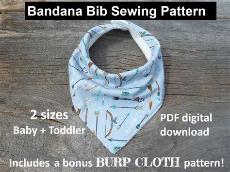 pattern language pdf free download bandana bib sewing pattern pdf bandana bib bibdana