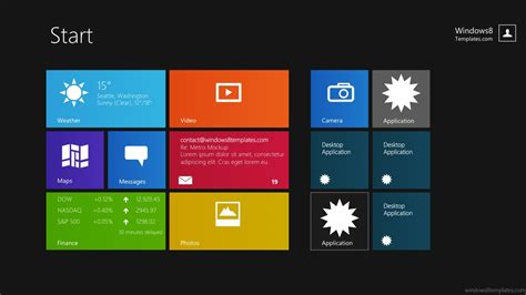 powerpoint themes free download for windows 8 windows 8 prototyping kit windows 10 templates modern