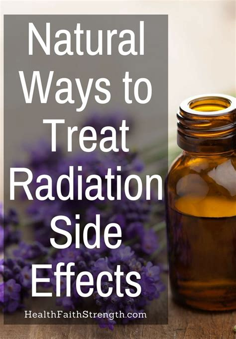 How To Detox From Radiation Therapy by Ways To Treat Radiation Side Effects