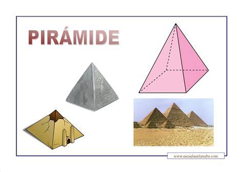 imagenes de pirmides geometricas formas geometricas piramide escuela en la nube