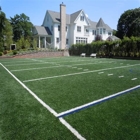 football field in backyard my son would go nuts for this football lacrosse field